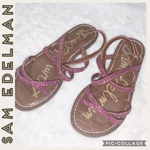 Sam Edelman • Gail • Glittery Sandals • Girls • 4